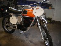 04 We do write year 2009 this Husky 250 cc from 1967 is ready for GD to be raced on soon