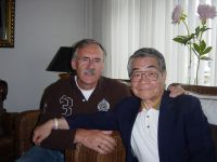 27 Many years later mr Tadashi Inoue visiting Gerrit Does in Waalre Holland in 2006