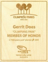 30 Thank you Olympic Parc organizers its my honour 2014