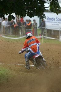 17 Pieter Does in action at Farleigh Castle - England 2009