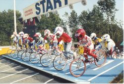 1990 slagharen had a unique starting gate that never failed