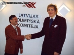 1994 GD meets former Pro lady basket player Uljana Semjonova in RIGA