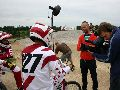 2012 Lativan_Olympic_BMX_team_being_interviewed_IMG_3922