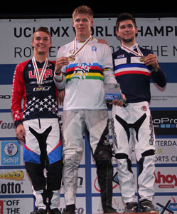2014,  Podium Junior Men
