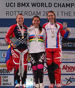 2014, Podium Junior Women