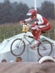 Early '80s: Famous Carlos Swinkels in action at the Waalre Track.