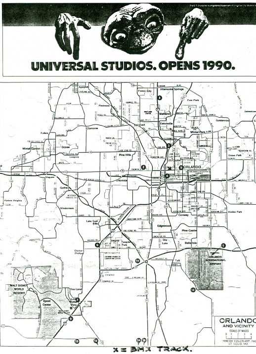 1990 was also the year Universal officialy opened and we were there