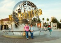 16 Pieter and Mieke Does at Universal Studios during one of our sightseeing tours