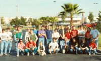 The 1991 class of the University of BMX training camp and Xmas Classic