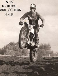 01 Gerrit Does on a Greeves Challenger around 1965