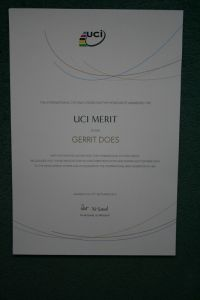 21 UCI Merit Award in 2013