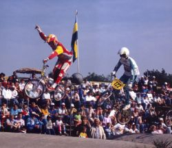1990 ecc slagharen holland. nd doing a one hander