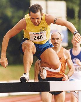 Theo Peeters, Dutch steeple chase Champ 2002