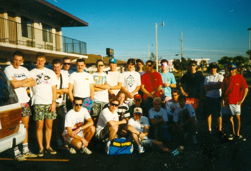 The 1990 University of BMX class training camp and Xmas Classic USA