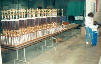 62 NBL Xmas Classic trophies hundreds of them