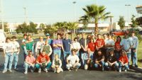73 One more time the picture of the University of BMX class of 1991 Orlando BMX clinic and Columbus Xmas Classic event